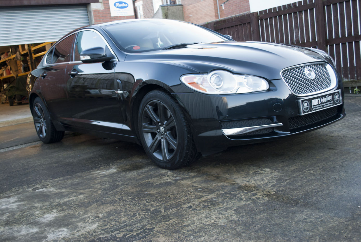 Jaguar XF Detailed by DWR Detailing