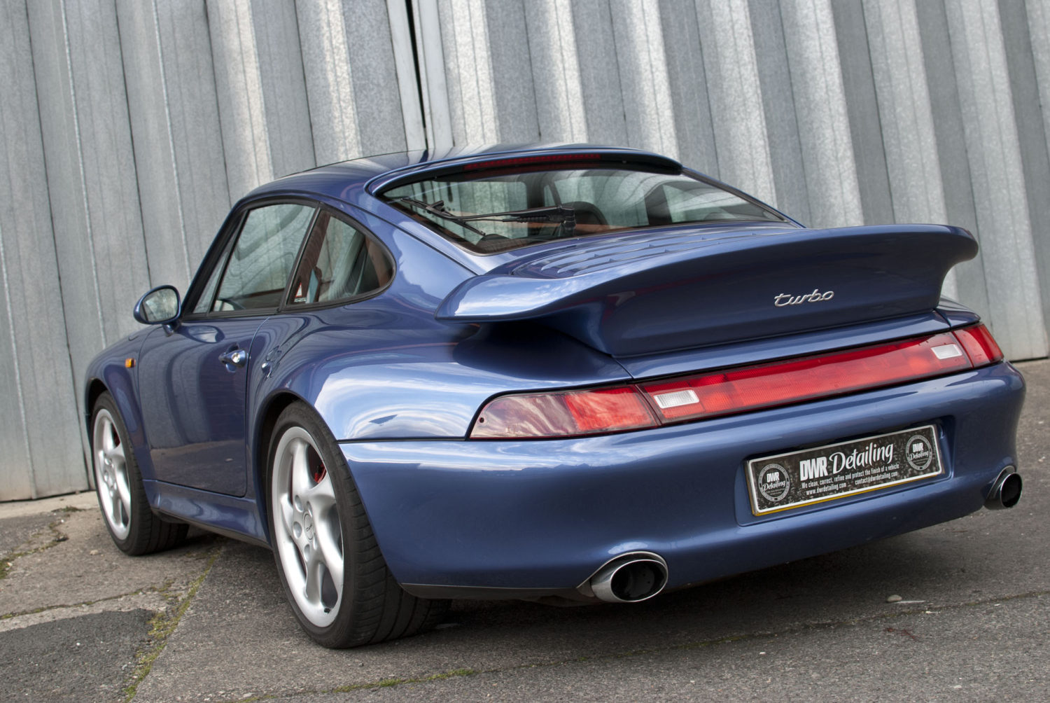 Porshce 911 (993) Detailed by DWR Detailing